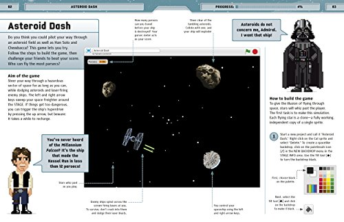 Star Wars Coding Projects: A Step-by-Step Visual Guide to Coding Your Own Animations, Games, Simulations an by DK Children (Image #11)