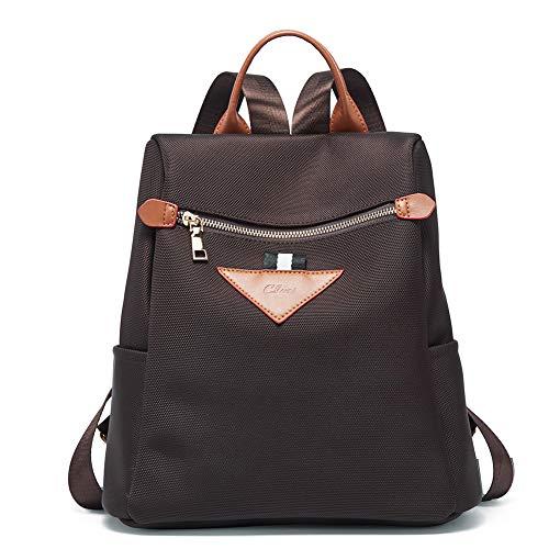 Backpacks Purse for Women Canvas Fashion Travel Ladies Designer Shoulder Bag Coffee