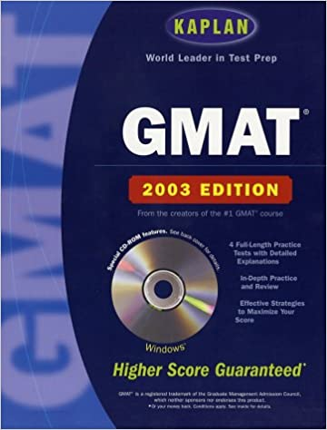 Kaplan GMAT 2003 with CD-ROM (Kaplan GMAT Premier Program (w/CD))