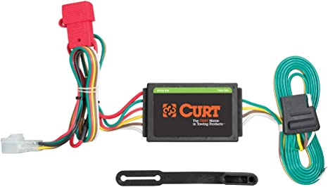 curt 55370 vehicle side custom 4 pin trailer wiring harness for select subaru forester, legacy, outback, b9 tribeca, wrx  2015 subaru crosstrek wiring harness