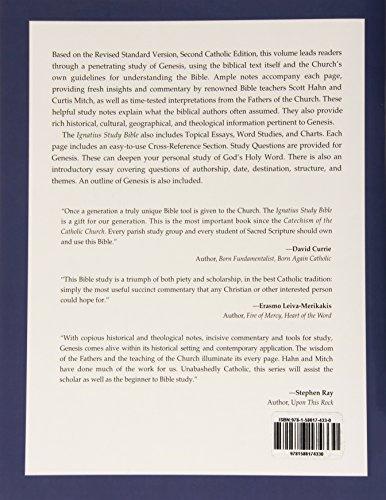 Genesis : Catholic Scripture Study International