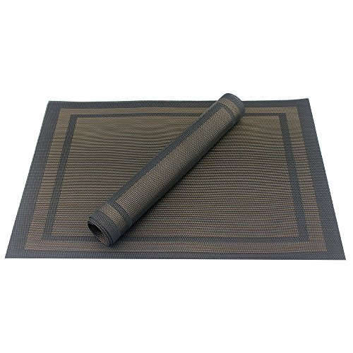 Placemats Heat resistant Placemats PVC Placemats Woven  : 51FS23f5ToL from www.desertcart.ae size 500 x 500 jpeg 41kB