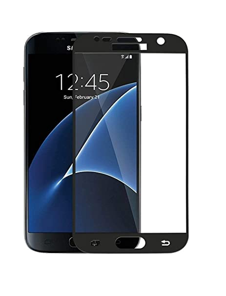 RG SHOPPEE coloured tempered glass for Samsung Galaxy s7 Screen guards