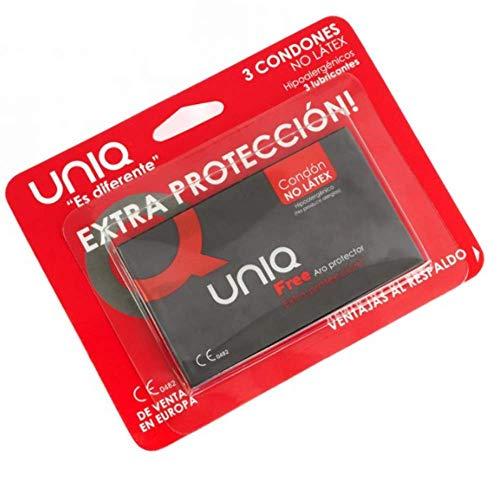 Dreamlove Uniq Free Aro Protector Preservativo sin Latex - 3 Unidades