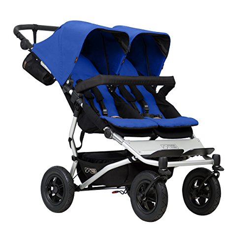 Mountain Buggy Duet V3 Buggy Marine, Blue