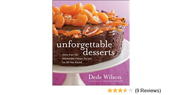 Unforgettable Desserts - Kindle edition by Dede Wilson. Cookbooks, Food & Wine Kindle eBooks @ Amazon.com.