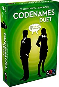 Czech Games 00040CGE Codenames: Duet-The Two Player Word Deduction Game