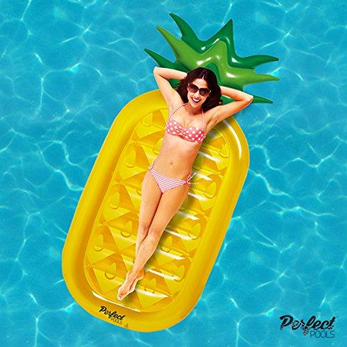 L'Ananas Giant gonflable 'Perfect Pools' 'Lilo | Flotteur de piscine 180cm