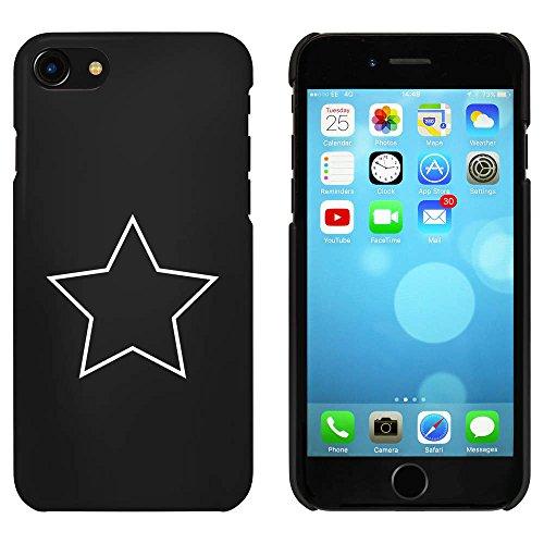 Noir 'Étoile' étui / housse pour iPhone 7 (MC00056197)
