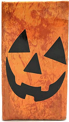 Cypress Home Fall Pumpkin Face 40 Count Guest Towels/Buffet Napkins for $<!--$10.99-->