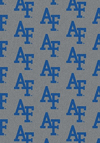 (American Floor Mats Air Force Falcons NCAA College Repeating Team Area Rug 3'10