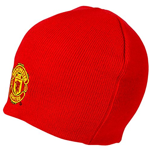 Hat Manchester United - Manchester United FC - Authentic EPL Knitted Hat Red