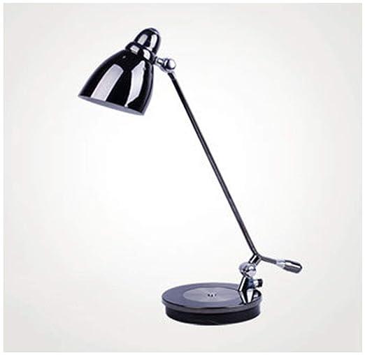 WEIBIN_LIU Lámparas de escritorio Lámpara de mesa, brazo largo ...