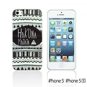 OBiDi - Designer Hard Case Cover for Apple iPhone 5S / Apple iPhone 5 - Hakuna Matata