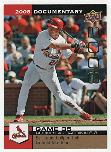 (Rick Ankiel (Baseball Card) 2008 Upper Deck Documentary Gold # 1155 NM/MT)