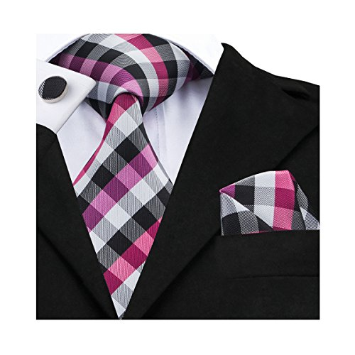 Handkerchief Mens Necktie Set - 9
