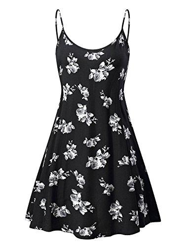 Dress Adjustable Women's Cutelove Ms6216 Sleeveless Swing Beach 10 Summer Strappy xq0OOBEwfp