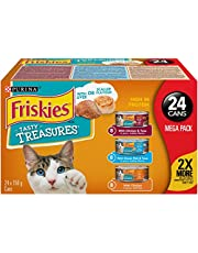 Purina® Friskies® Tasty Treasures™ with Cheese Cat Food 24-156g Variety Pack