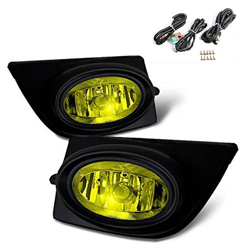 SPPC Amber Fog Lights For Honda Civic