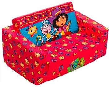Groovy Dora The Explorer Cowgirl Flip Open Sofa Machost Co Dining Chair Design Ideas Machostcouk