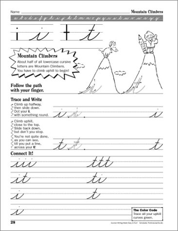 Counting Number worksheets handwriting worksheets for grade 2 : Amazon.com: Cursive Writing Made Easy & Fun!: 101 Quick, Creative ...