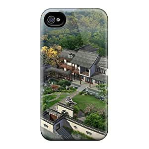 Top Quality Protection 3d Beautiful House Project Cases Covers For Iphone 6 Plus
