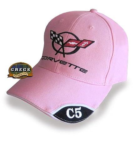 Corvette C5 Logo Black Baseball Cap HRP