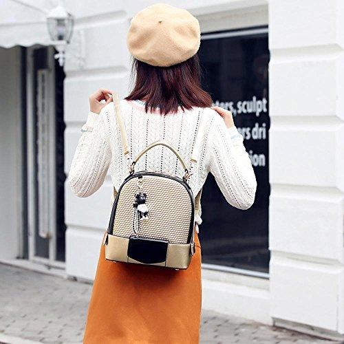 Aoligei Sac à bandoulière coréenne version féminine d'épaule unique de mode diagonale cross étudiant de sac de sac à dos sac A