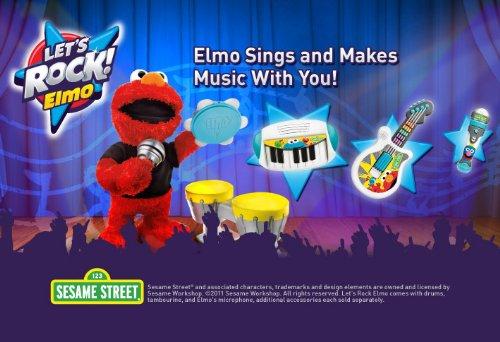 Sesame Street Let's Rock Elmo by Sesame Street (Image #6)