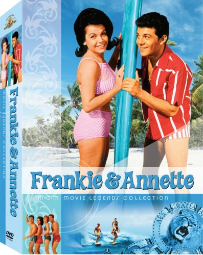 (Frankie & Annette MGM Movie Legends Collection (Beach Blanket Bingo / How to Stuff a Wild Bikini / Beach Party / Bikini Beach / Fireball 500 / Thunder Alley /)