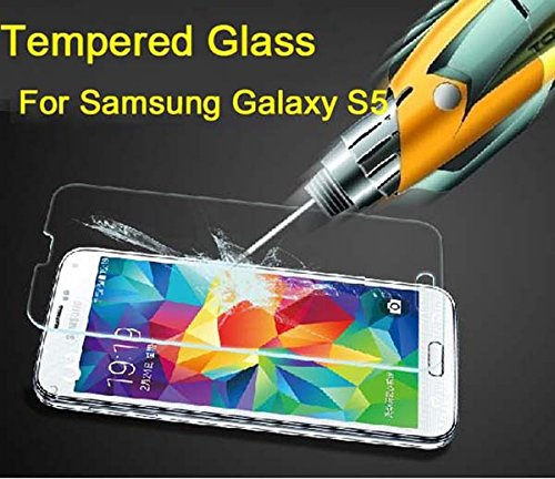 Tempered Glass Screen Protector Guard For Samsung Galaxy S5 SV - 2