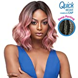 Outre Synthetic Hair Full Cap Quick Weave Complete Cap Marie (1B)