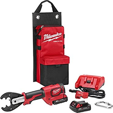 Milwaukee 2678-22O M18 Force Logic 2.0 Ah 6T Crimper with D3 Groves / O Die