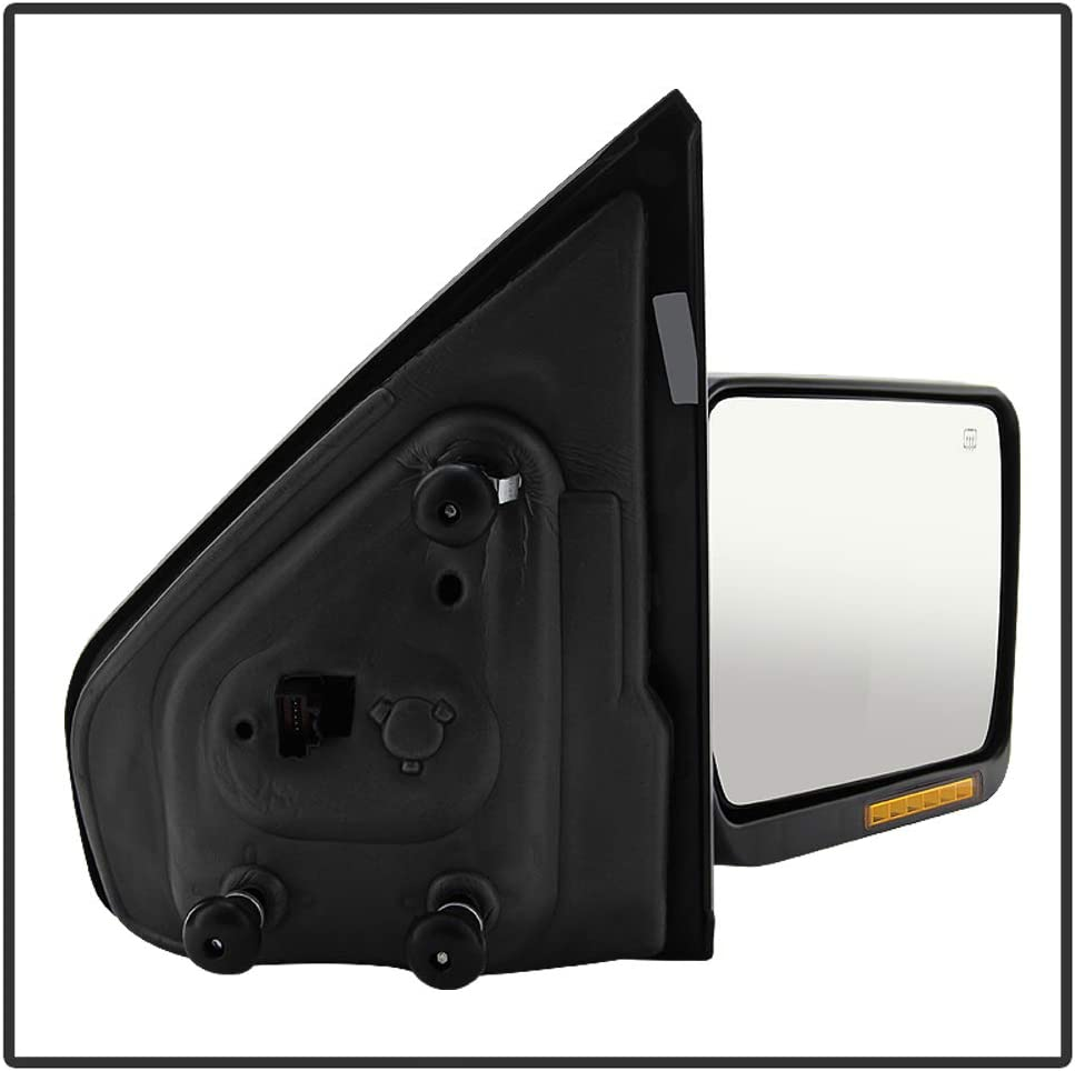 Power Heat Mirror w//LED Signal Passenger Side RIGHT Original Style For 2004 2005 2006 04 05 06 Ford F150 F-150 Acanii