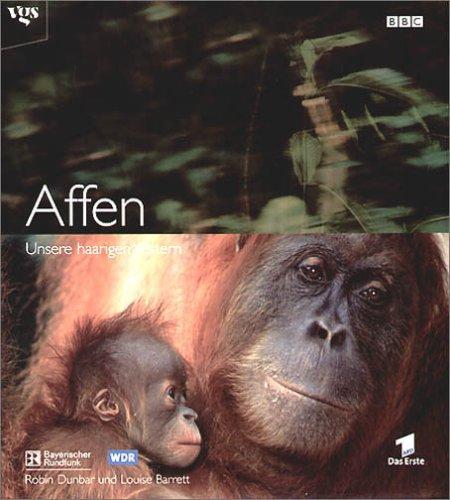 Affen. Unsere haarigen Vettern. Bildband aus der BBC Edition.