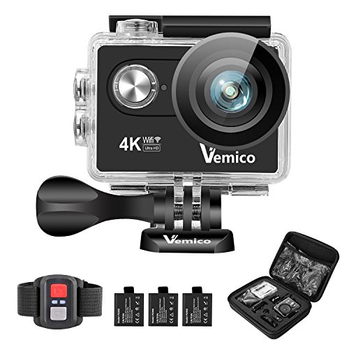 Vemico Waterproof Camcorder Rechargeable Batteries product image