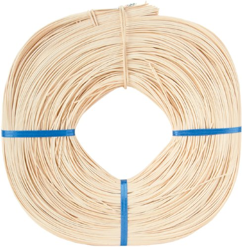 Reed Round Basket (Commonwealth Basket Round Reed #3 2-1/4mm 1-Pound Coil, Approximately 750-Feet)