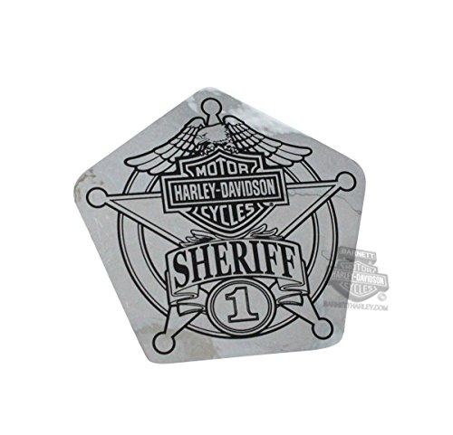Harley-Davidson Sheriff Original Small Decal (Harley Davidson Sheriff Decal compare prices)