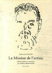 La mission de l'artiste