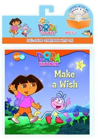 Download Make a Wish (Dora: The Explorer) (Book and CD) PDF