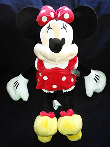 Disney Exclusive Large RED Minnie Mouse Plush Toy -- 27 H ()
