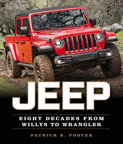 The definitive, fully illustrated celebration of an auto manufacturer that paved its own way by going off-road is now updated to celebrate Jeep's 80th anniversary. Few American vehicles, or vehicles made anywhere else in the world for that matter,...