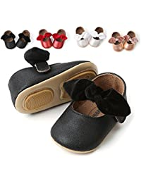 Baby Sneakers - Infant Boys Girls Non-Slip Soft Soled Toddler First Walkers Angel Wing Crib Shoes