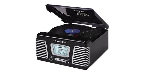 Amazon.com: Crosley Cr711 autorama Turntable con radio AM/FM ...