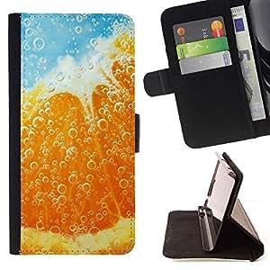 For Samsung Galaxy S6 Case , Planta Naturaleza Forrest Flor 39- la tarjeta de Crédito Slots PU Funda de cuero Monedero caso cubierta de piel