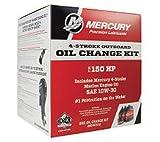 Mercury Marine New OEM 10W-30 Fourstroke Outboard Oil Change Kit, 150HP, 8M0107512