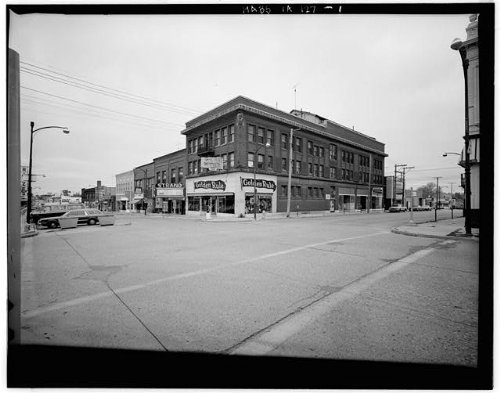 HistoricalFindings Photo: Knights of Columbus Building,202-204 South Federal Avenue,Mason City,Iowa,IA ()