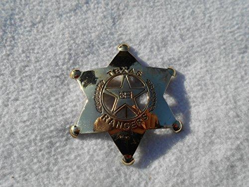 Costume Badge Brass Texas Ranger
