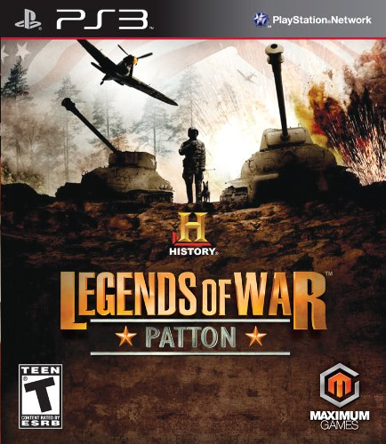 History: Legends of War Patton - Playstation 3 (Best Ps3 War Strategy Games)