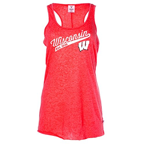Official NCAA Venley Wisconsin Badgers UW Women's Racerback Tank Top